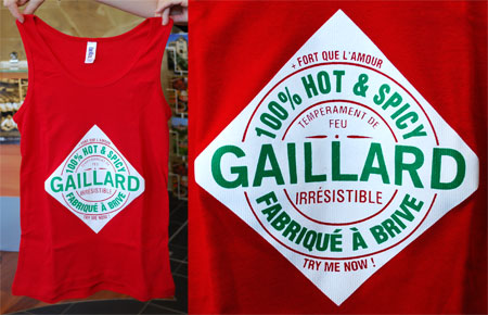 t shirts 100 gaillard brive la gaillarde concours the green geekette. Black Bedroom Furniture Sets. Home Design Ideas