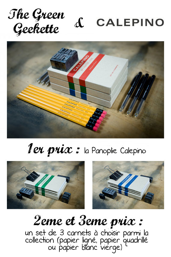 thegreengeekette concours calepino Blog Anniversaire – #Concours #12 : les carnets & calepins de poche Calepino !