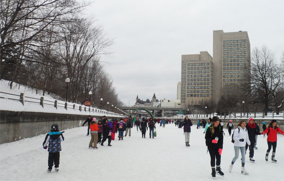 patinoire canal rideau ottawa the green geekette. Black Bedroom Furniture Sets. Home Design Ideas